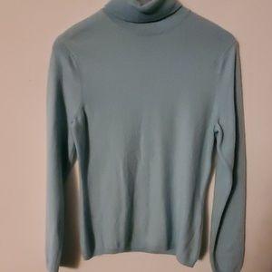 Prive Blue Long Sleeve Sweater - M